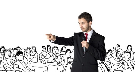 How to use body language to create a powerful presentation.