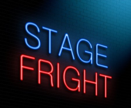 How to overcome stage fright and fear of public speaking.