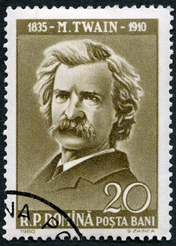 Image of great public speaker Mark Twain.