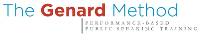 Genard Method Public Speaking Training