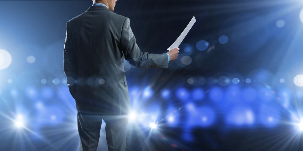 The secret strategy that will make what you say powerful in public speaking for leadership.