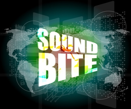 Sound bites will help make your public speaking messages memorable.