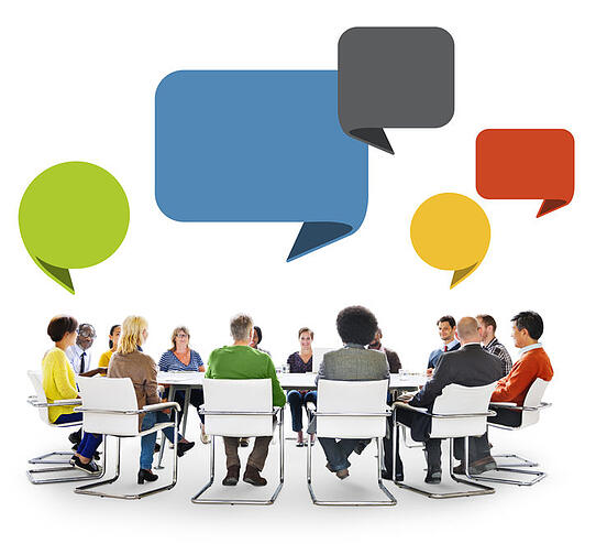 Knowing how to introduce yourself at a table is an effective business practice.