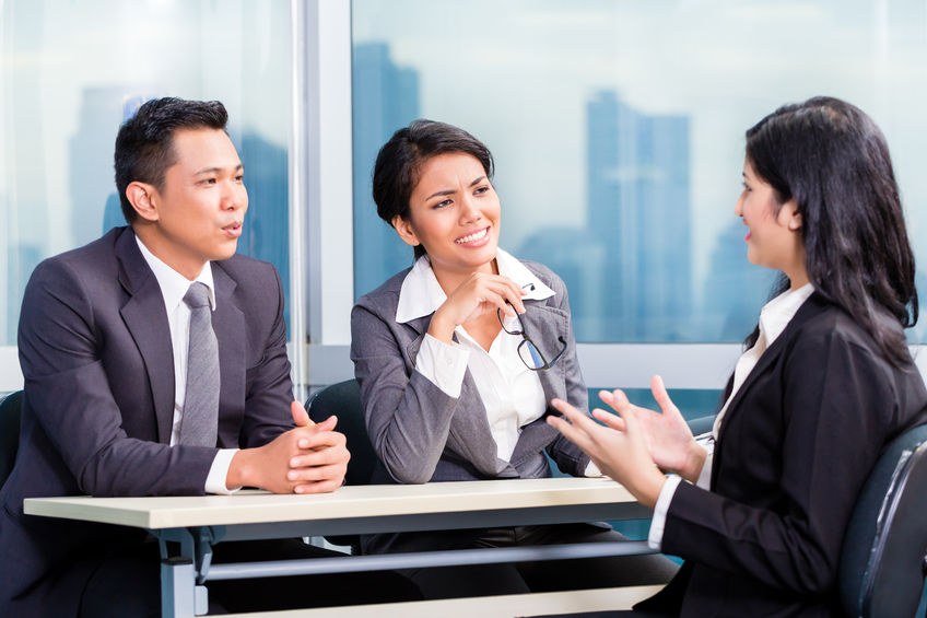 Knowing what to say in a job interview includes phone skills and practicing how to persuade.