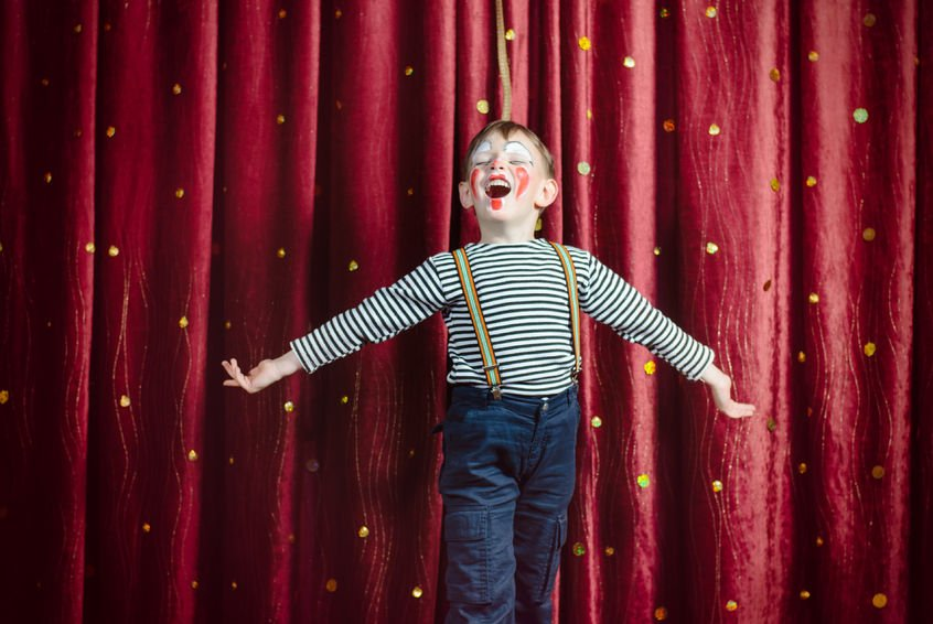 How to reduce nervousness in public speaking and develop stage presence.