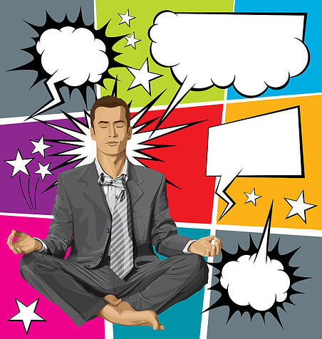Diaphragmatic breathing for effective public speaking for business.