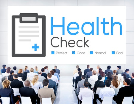 Stock photo of healthcare conference portraying medical communication.