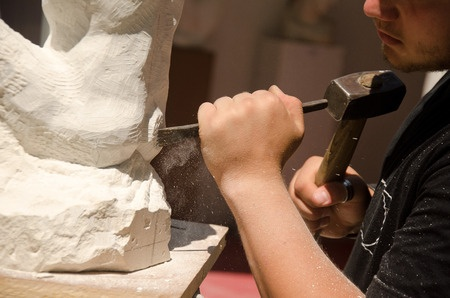 Like a sculptor creating a beautiful sculpture, in public speaking you need to remove material.