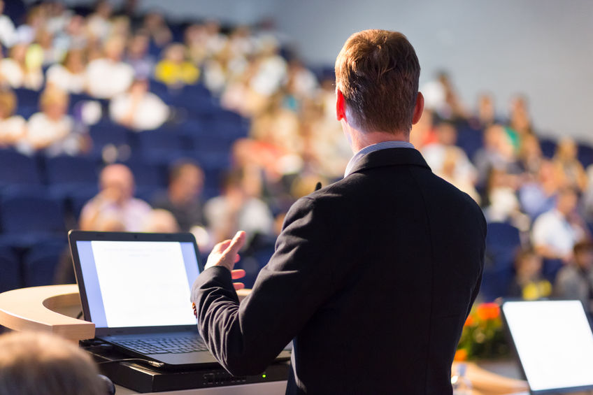 Poised Business Executive Speaker