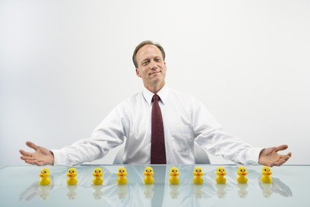 Get your ducks in a row when wondering how to organize a presentation.