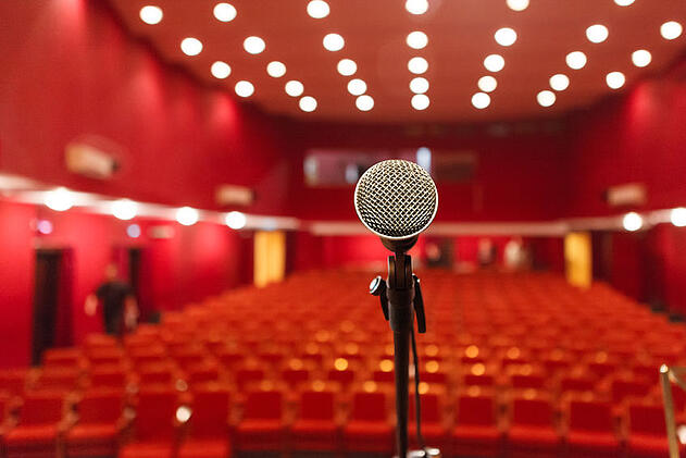 Podium presence how to speak to influence on the big stage.
