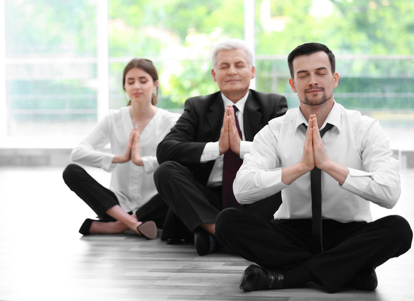 Diaphragmatic breathing makes business executives more focused and powerful public speakers.