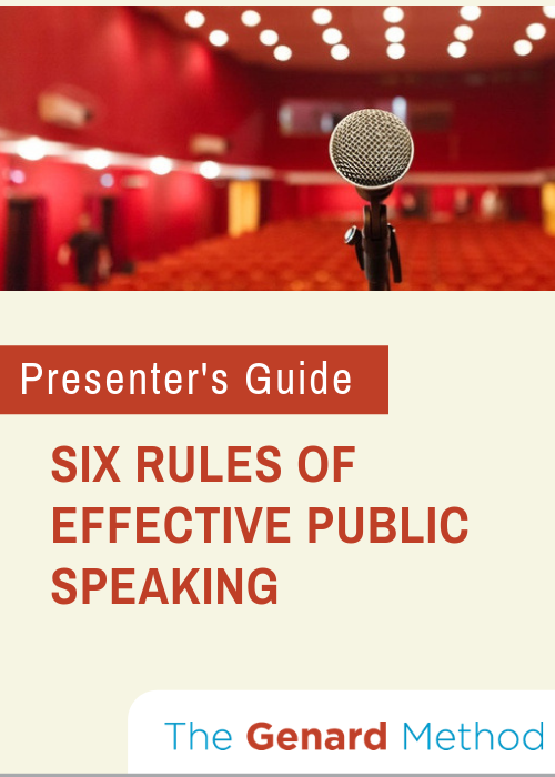 GENARD 500x700px Cover_ Six Rules of Public Speaking