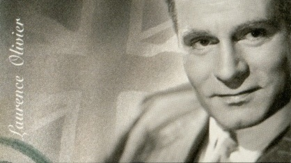 Photo of British actor Laurence Olivier.