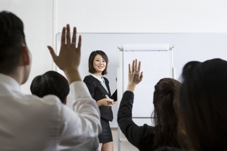 How to handle yourself in Q & A or question-and-answer sessions is a key public speaking skill.
