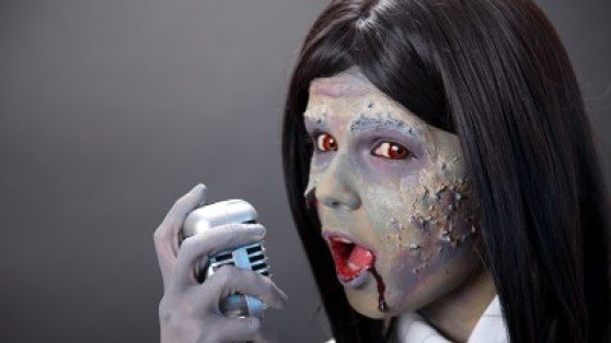 Zombies or the living dead don't demonstrate effective presentation skills.