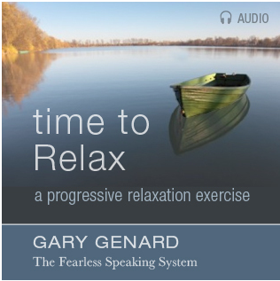 Dr. Gary Genard's Time to Relax - A progressive relaxation exercise on audio.