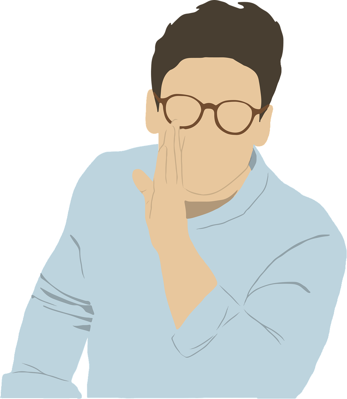 A secret for effective gestures in public speaking.