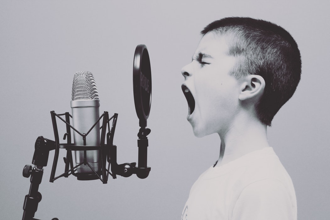 Knowing how to have a powerful voice is important in business.