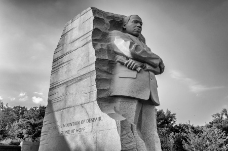Statue of Martin Luther King, Jr. in Washington, D.C.