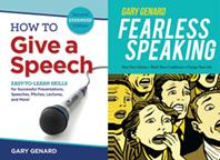 Gary Genard's Public Speaking Books