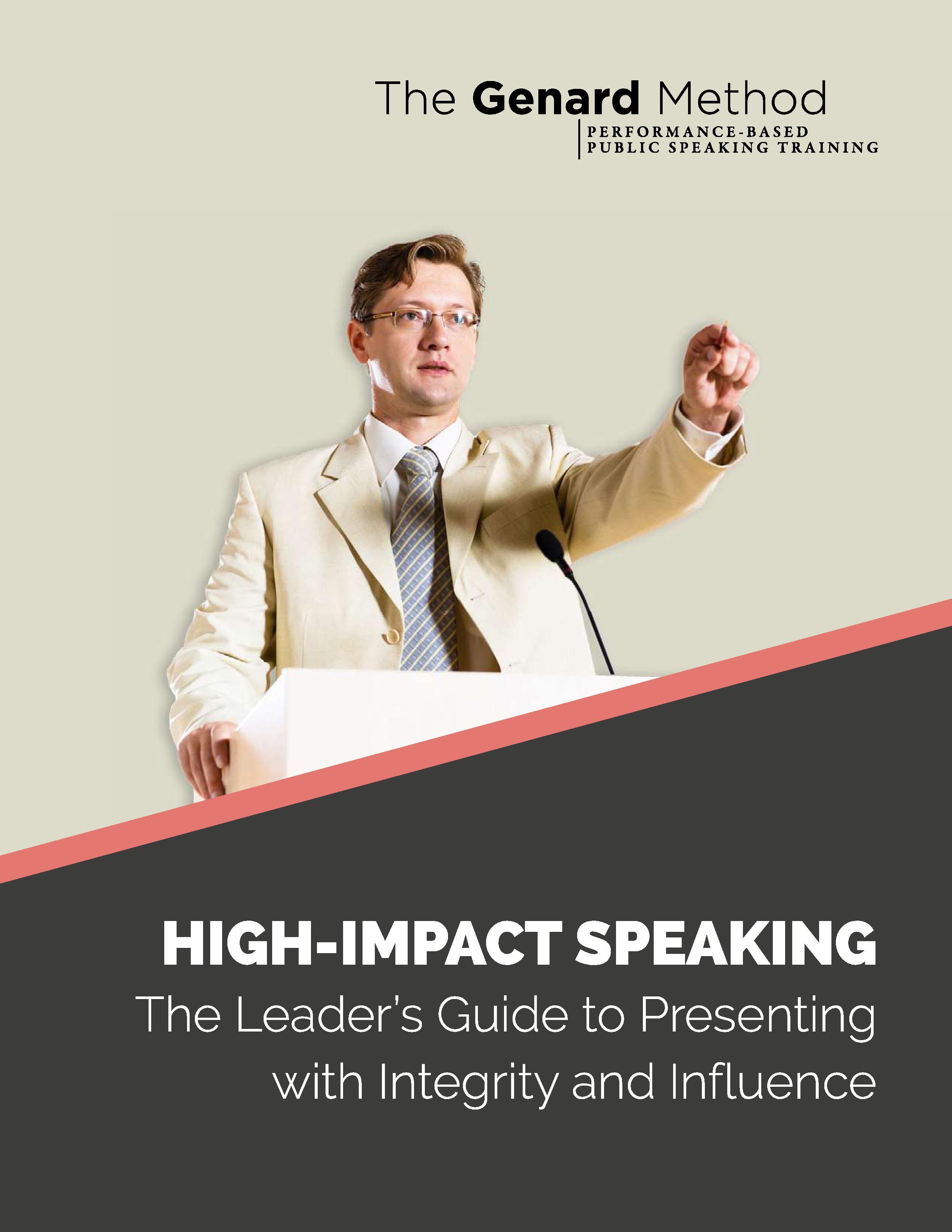 Guide for Leadership Speaking
