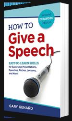 Dr. Gary Genard's public speaking handbook, How to Give a Speech.