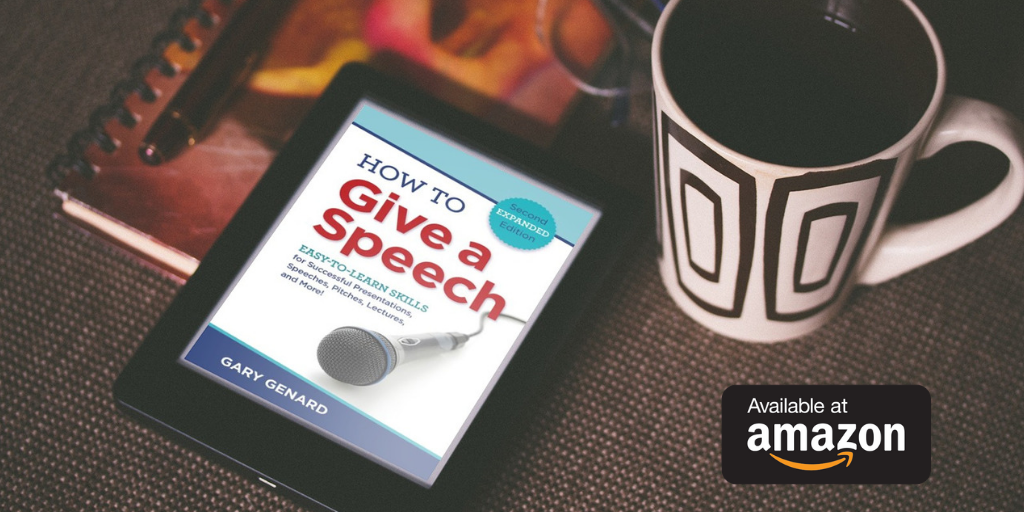 How to Give a Speech available at Amazon.