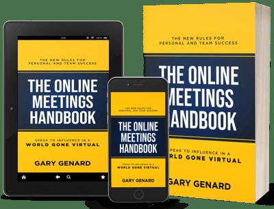 Dr. Gary Genard's guide to speaking virtually, The Online Meetings Handbook