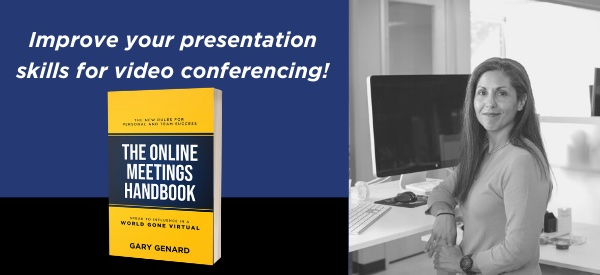 How to improve your presentation skills for video conferencing.