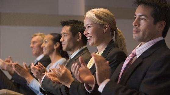 Presentation skills training from The Genard Method improves public speaking for business.