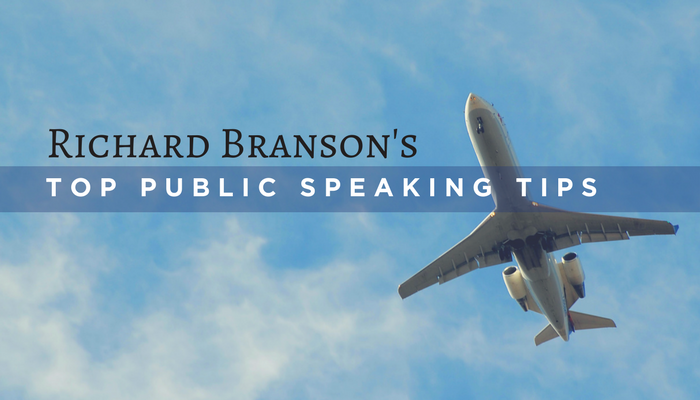 Richard Branson On Public Speaking: The Secret You Need to Know